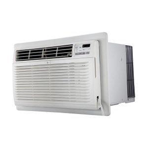 LG 530-sq ft 230-Volt White Through-the-Wall Air Conditioner ENERGY STAR