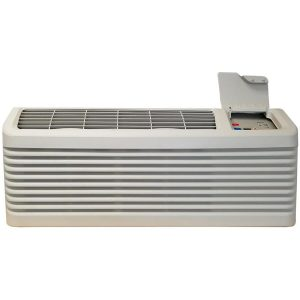 Amana Package Terminal Air Conditioner 750-sq ft 230-Volt Stonewood Beige Ptac Air Conditioner