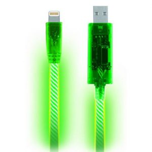 Light Pulse LED Lightning Cable For Apple Devices - Buy One Get One Free!