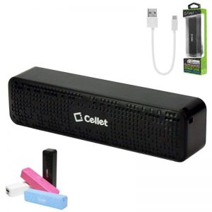 Cellet 2000mAh Power Bank Portable Charger, Black For iPhone 11