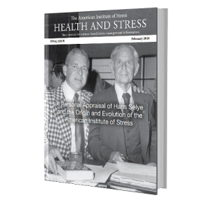 The Origin and Evolution of the American Institute of Stress