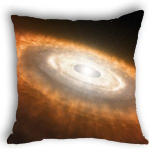 Anlye Yellow Milky Way Pillow case Throw Pillow Cover for Outdoor Cushions Patio Chairs