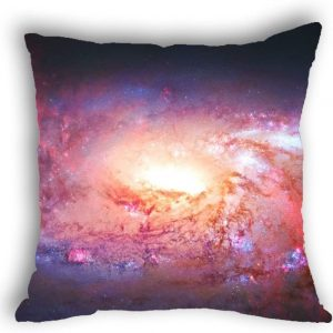 Anlye Galaxy Pillowcase red Black Hole Vortex Pillow Cover red Pillow Cases for Sofa decor