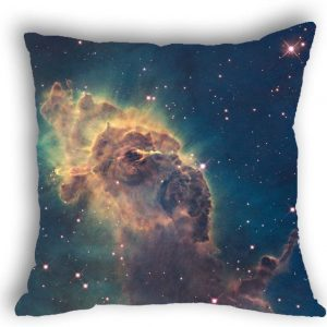 Anlye Galaxy Pillowcase Twinkles Star Cushions Covers Cheap toss Pillow Covers Cool Pillow Cases