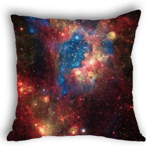 Anlye Rose red Blue Galaxy Outdoor Pillows Covers Luxury Shabby Chic Pillow Cover/case Handmade