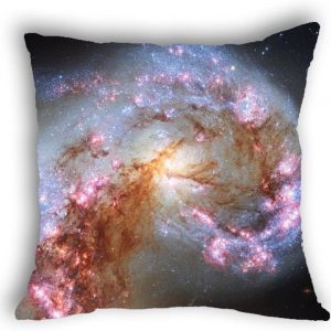 Anlye Galaxy Pillowcase Purple & Gray 3D Pillow Covers Sale Handmade Space Pillow Cover