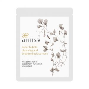 Super Bubble Cleansing and Illuminating Face sheet mask