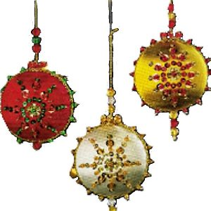 Beaded Satin Beauties Ornaments (special order - sold out)