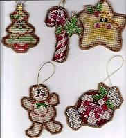 Christmas Sweeties Ornaments (from kit)