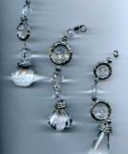 Crystal Beaded Danglers Ornaments (special order - sold out)