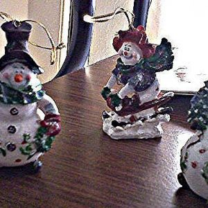 Frosty Snowmen Ornaments (special order - sold out)