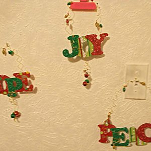 Holiday Inspiration Christmas Decorations Set (from kit)