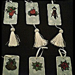 Vintage Art Ornaments (special order - sold out)
