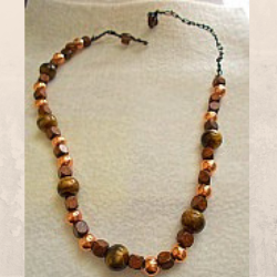 Wood Bead Necklace 2 (special order - sold out)