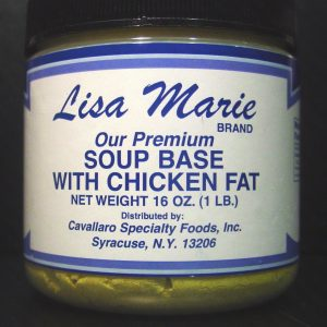 Lisa Marie Premium Soup Base with Chicken Fat - 16 oz